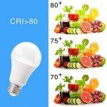 Litake Ampoules LED,A19 E26/27 3000K Lumière Blanc Chaud 11W (Equivalent 100W) Ampoule économie d'énergie non dimmable, 6 pièces [Classe énergétique A +]... de la marque Litake image 4 produit