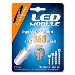 LiteXpress LXB404 Module à LED 360 lm pour lampe de poche Maglite à 4-6 piles C/D de la marque LiteXpress image 0 produit