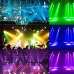 Lixada DMX-512 RGBW Projecteur Éclairage de scène lyre led, Mini 9/14 canaux tête mobile Light Professionnel Commande Vocale automatique Pour Noël Party Disco Show (100W) de la marque Lixada image 2 produit