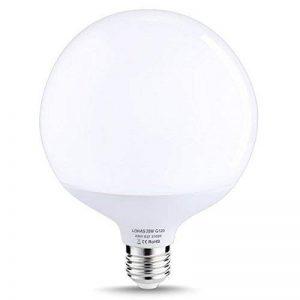 LOHAS 20W E27 Lot de 1 Ampoule LED Globe Lampe Bulb Spotlight,2700K Blanc Chaud,1800lm,200W Ampoule Halogène Équivalent de la marque Lohas-Led image 0 produit