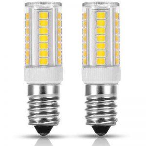 LOHAS 5W E14 Blanc Chaud 3000K, Ampoule LED, 40W Ampoule Halogène Équivalent, 220-240V AC 400lm, 360° Larges Faisceaux, Culot E14 Lot de 2 de la marque Lohas-Led image 0 produit