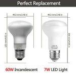 LOHAS 5X E27 R63 Ampoule LED, Blanc Chaud 3000K, 7W Consommés Équivalent 60W, 560LM, 220-240V AC, 120°Larges Faisceaux, Ampoule E27 de la marque Lohas-Led image 1 produit
