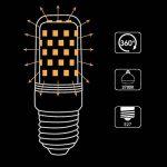 LOHAS 9W, 80W Ampoule Halogène Équivalent, E27 Blanc Chaud 2700K, Ampoule LED, 220-240V AC, 1000lm, 360°Larges Faisceaux, Ampoule Flamme. Lot de 3 de la marque Lohas-Led image 3 produit
