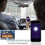 LOHAS Alexa Smart LED Ampoule WiFi, A60 B22 Couleur changeant l'ampoule, Fonctionne avec Amazon Alexa, Google Home & IFTTT, Équivalent 60W, Émettre n'importe quelle teinte dans l'arc-en-ciel et les lumières blanches accordables, Télécommandé par un Smartp image 2 produit