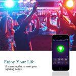 Lohas Lot de 2ampoules LED intelligentes Wifi MR16 Commande vocale par Alexa et Google Home Changement de couleur Blanc chaud + RGB Équivalent 50W Sans bulbe requis de la marque Lohas-Led image 1 produit
