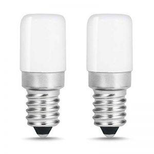 LOHAS® Lot de 2 Lampe E14 LED Ampoule pour Réfrigérateur / 1.5 W - Puissance équivalente à une Lampe de 15 Watt,Blanc Froid - 6000K de la marque Lohas-Led image 0 produit