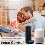 Lohas Wifi GU10Smart ampoules, fonctionne avec Alexa et Google Home, 5W égal à 50W Ampoule à réflecteur, Sélecteur de Blanc (2000K-6500K), contrôlé par les appareils intelligents, sans hub, Lot de 2 de la marque Lohas-Led image 1 produit
