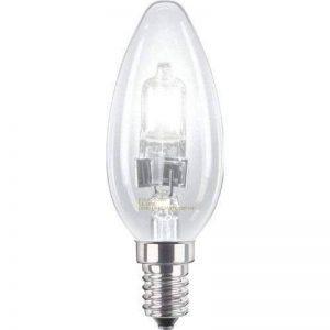 Long Life Lamp Company Lot de 10 ampoules halogène bougie basse consommation à intensité réglable E14 Edison SES 28 W = 40 W de la marque Long Life Lamp Company image 0 produit