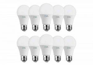 Lot 10ampoules–Goutte LED 10W–E27–980lm–Lumière naturelle 4000K ° de la marque DYA image 0 produit