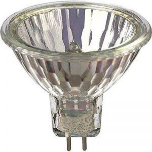 Lot de 10 ampoules halogènes à réflecteur dichroïque variable en 50W MR16, basse tension 12V GU5.3 de la marque YIFENG image 0 produit