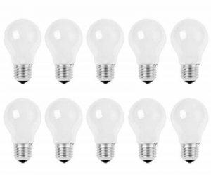 Lot de 10 ampoules à incandescence Mat E27 230 V 100 W de la marque NCC-Licht image 0 produit