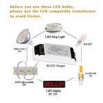 Lot de 10 ampoules LED 2W = 20W - AC/DC 12V - Faisceau 360° - Blanc Froid 6000K - Non compatible avec variateur d'intensité - Gvoree G4 de la marque GVOREE image 1 produit