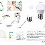 Lot de 10ampoules lED boule G45LED, 6W, 570lumen, culot e27, lumière naturelle 4000K ° de la marque DYA image 3 produit