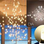Lot de 10ampoules lED culot g9–4W 340Lumens–220/240V–Mesures Ø 16x 50mm–Lumière naturelle 4000K ° Rayon d'éclairage 360°–Non dimmable de la marque DYA image 1 produit