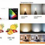 Lot de 10ampoules lED culot g9–4W 340Lumens–220/240V–Mesures Ø 16x 50mm–Lumière naturelle 4000K ° Rayon d'éclairage 360°–Non dimmable de la marque DYA image 4 produit
