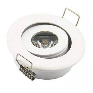 Lot de 10LED haute puissance 3W Mini Duvet Plafonnier à LED Blanc lumière ronde LED Living kicthen Lampe Spot Blanc Chaud de la marque JOYINLED image 0 produit