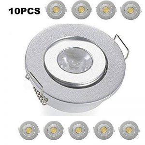 Lot de 10mini carré 3W haute puissance Spot LED encastrable plafond Down Light Lampes LED Spots encastrés pour meuble de salon chambre de la marque JOYINLED image 0 produit
