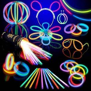 Lot de 100 bracelets fluorescents lumineux Glow - Couleurs assorties de la marque HotLite image 0 produit