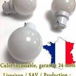 Lot de 12 ampoules Led B22 1W Guirlande Blanc chaud 3000k incassables (équivalence 15W) de la marque Revenergie image 2 produit