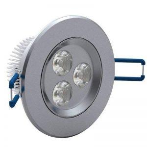 Lot de 12 projecteurs LED encastrables Lumière Blanche froide 3 W de la marque FuturPrint image 0 produit