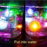 Lot de 12pcs Bougies LED étanche Submersible Lampe (Rouge) de la marque Little ants image 3 produit