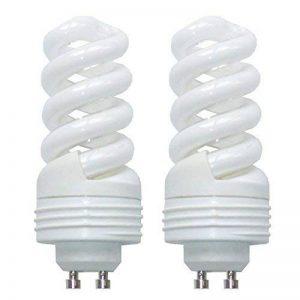 Lot de 2 11 Watt GU10 énergie ampoules économiques 2700 Kelvin 650 lumens éclairage de la marque etc-shop image 0 produit