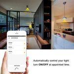 [Lot de 2] Ampoule Intelligente E14 9W, SPARIN Smart Ampoule LED E14 Couleur Wifi Ampoule Intelligente Sans-Fil Multicolore Ampoule Connecte Google Home/Amazon Alexa de la marque SPARIN image 3 produit