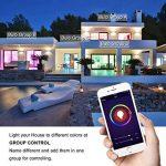 [Lot de 2] Ampoule Intelligente E14 9W, SPARIN Smart Ampoule LED E14 Couleur Wifi Ampoule Intelligente Sans-Fil Multicolore Ampoule Connecte Google Home/Amazon Alexa de la marque SPARIN image 4 produit