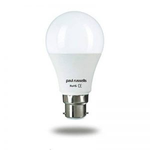 Lot de 2ampoules LED 15W GLS B22BC à baïonnette Paul Russels lumineux 15W = 125W A60Globe 270Faisceau lampe 4000K Blanc froid 125W à incandescence de remplacement de la marque paul russells image 0 produit