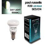 Lot de 2ampoules LED Réflecteur 4W E14Culot à vis Paul Russels lumineux 4W = 30W Spot R39spot 270Faisceau lampe 6500K Lumière du jour 30W Ampoule à incandescence de remplacement de la marque paul russells image 1 produit
