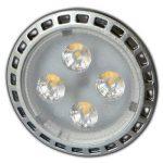 Lot de 3 ampoules à lED 5,5 w spot gU10 à intensité variable blanc chaud 3000 k ampoules ampoule à incandescence réflecteur spot se substitue aux ampoules halogènes variateur pour lampe de la marque PB-Versand image 4 produit