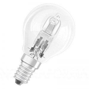 Lot de 3Balle de golf P45/Mini Globe Ampoules Eco Halogène Compatible variateur d'intensité 28W = 35W Energy Saver Petit culot à vis Edison SES E1442W 240V de la marque Philips image 0 produit