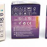 Lot de 3d'intensité variable Blanc froid GU10LED Super Bright ampoules (7W = 72W) de remplacement pour halogène Bulbs- 4000K–500lumen–90% d'économie d'énergie lamps par E3light de la marque e3Light image 4 produit