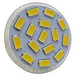 Lot de 3x ampoules spotsMR11/GU4LED 4W 12V DC avec 15SMD en verre véritable à économie d'énergie Blanc chaud Spot 120° de la marque PB-Versand image 4 produit