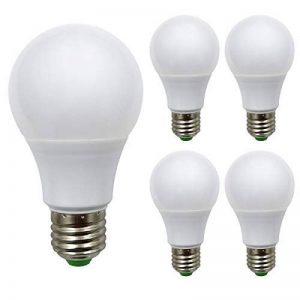 Lot de 4ampoules à incandescence, E271224V AC/DC 9W 940lumens Super Bright LED SMD, Mo ampoules halogènes équivalent, blanc froid, E27, 9.00 wattsW 24.00 voltsV de la marque ZHENMING image 0 produit