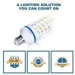 Lot de 4 Ampoules LED 12W E27, équivalent à ampoule incandescente de 100W, Blanc Froid 6000K, 1080lm, 360° Faisceau, Culot E27, 230V LED Lampe, Non-dimmable Ampoule de la marque OSAYES image 3 produit