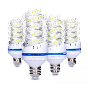 Lot de 4 Ampoules LED E27 20 W équivalent à des Ampoules à Incandescence de 150 Watts, 1700 Lm, Non Réglables Culot à vis Edison Ampoules, Angle de Faisceau de 360°, AC 85~265V (LLED-20W-Blanc Chaud 3200K) de la marque Bro.Light image 0 produit