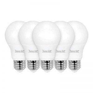 Lot de 5 ampoules led E27 9 watt (eq. 60 watt) de la marque THOMAS WATT image 0 produit