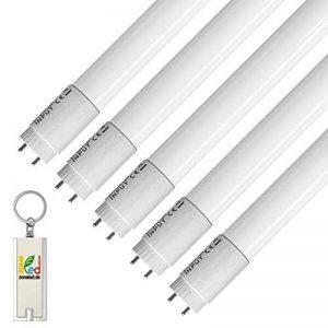 Lot de 5 ZoneLED SET - 150cm Tube LED - T8 G13-22W (remplace le tube à gaz 58W) -Blanc 6400K -2000 lm - Angle de faisceau de 160° de la marque Zone LED image 0 produit
