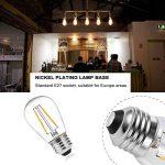 Lot de 6 Ampoule LED à Filament Dimmable E27 ST64 Retro Edison Vintage 600 Lumens 6W Equivalent à Ampoule Halogène de 60W Angle de Faisceau 360 ° pour la Décoration 2700K-Blanc Chaud de la marque Ledgle image 2 produit