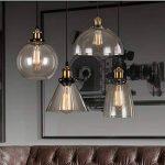Lot de 6 ampoules Edison vintages E27 - 60W - À filament - 220V - Blanc chaud - Transparentes -À suspendre, St64/60w, E27 60.0W de la marque Solobay image 3 produit
