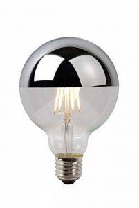 Lucide LED BULB - Ampoule Filament - Ø 9,5 cm - LED Dim. - 1x5W 2700K - Chrome de la marque Lucide image 0 produit