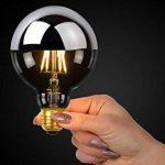 Lucide LED BULB - Ampoule Filament - Ø 9,5 cm - LED Dim. - 1x5W 2700K - Chrome de la marque Lucide image 2 produit