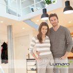 Lumare LED Spot à Encastrer Extra Plat 6W 450lumen 230V IP44 Blanc chaud pour salle de bain et salon Spot rond pièce de bain avec 6 pièce de la marque Lumare image 1 produit