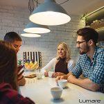 Lumaro LED bougie 5 pièce   E14 5W   Remplace la lampe 40w   Ampoule 410 lumen   2700 Kelvin   C35 Source lumineuse blanc chaud de la marque Lumaro image 1 produit