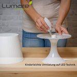 Lumaro LED bougie 5 pièce | E14 5W | Remplace la lampe 40w | Ampoule 410 lumen | 2700 Kelvin | C35 Source lumineuse blanc chaud de la marque Lumaro image 3 produit