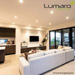 lumaro lumineux Module pour lumaro slim line Spot IP44avec seulement 27mm Profondeur de Montage. 4W 400Lumens ampoule LED blanc chaud AC 230V 120° Plafonnier Spot à Encastrer de la marque Lumaro image 3 produit