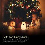 Lumière de nuit pour enfants, S & G Soft Silicone Colorful Bear Touch Dimmable à côté des lampes avec USB Rechargeable, Sensitive Tap Control Gift for Kids Chambre (fils de l'ours) … de la marque S & G Smart & Green image 3 produit