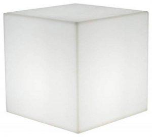 Lumisky 303114 Contemporain Cube Luminex avec Ampoule à Economie d'Energie E27 Fournie Polyéthylène Epais Blanc 40 x 40 x 40 cm de la marque LUMISKY image 0 produit
