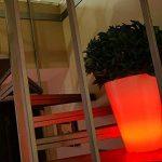 Lumisky 303132 Contemporain Vase Lumineux + Télécommande pour Changement de Couleur avec LED à Économie d'Énergie Polyéthylène Epais Multicolore Conique 40 x 40 x 50 cm de la marque LUMISKY image 2 produit